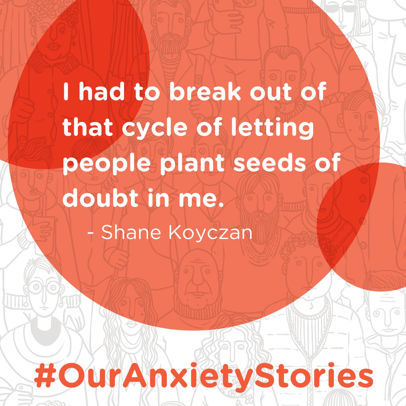 Beyond the Bullies: Shane Koyczan's Journey with Anxiety